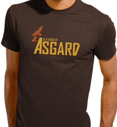 d2fe7ac9e3d1 Old Gods of Asgard – Alan Wake Mens T-shirt   Randomness   T shirt ...