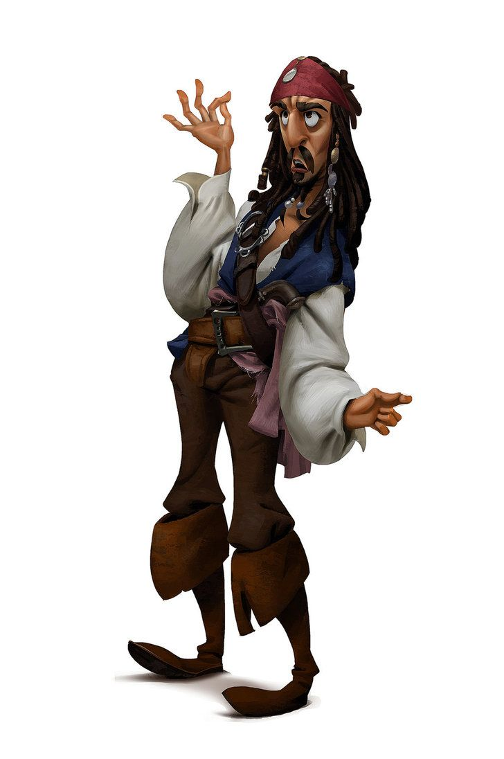 Fanart - Character from Pirate of The Caribbean by Victorior on DeviantArt ★ Find more at http://www.pinterest.com/competing/