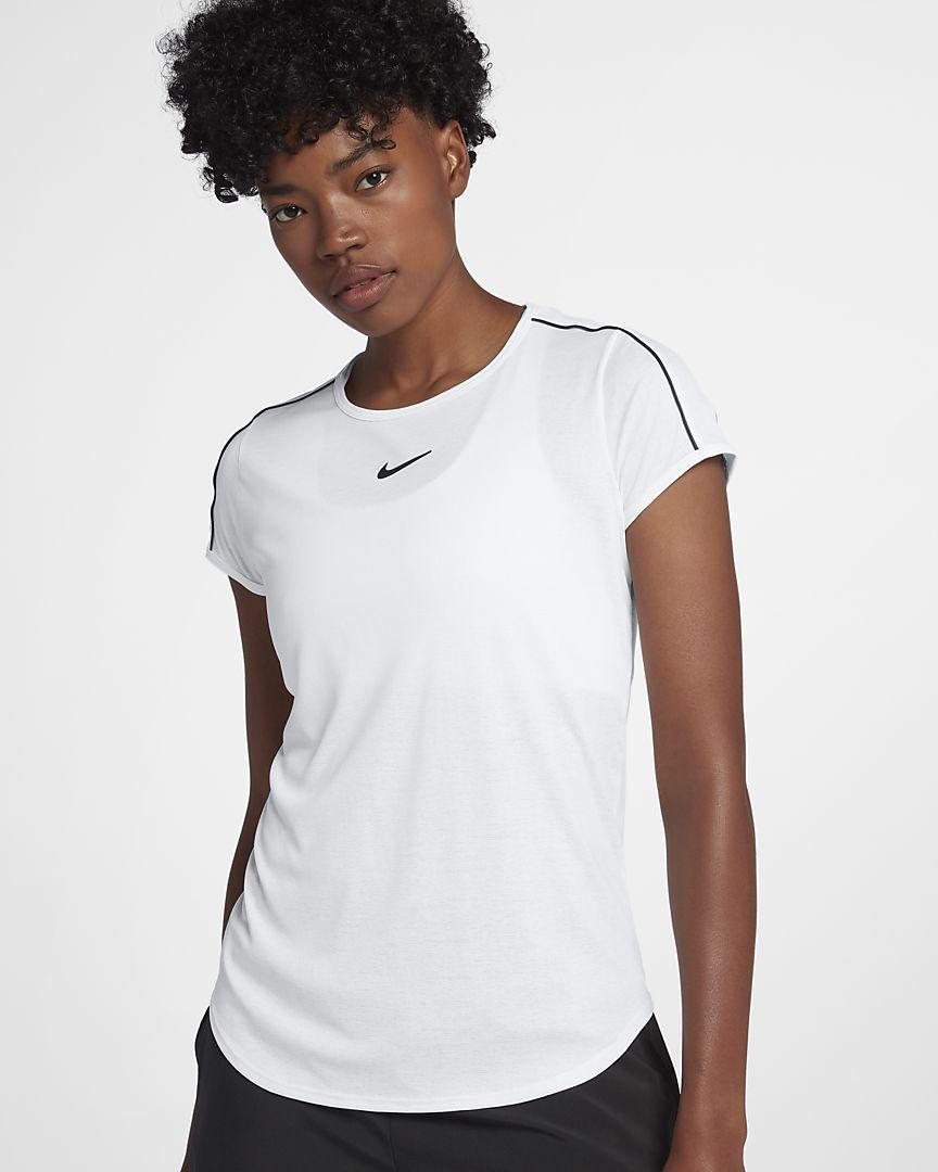 comportarse Hizo un contrato conductor  NikeCourt Dri-FIT Camiseta de tenis - Mujer. Nike ES   Camisetas de tenis,  Entrenamiento mujer, Pantalones cortos para mujer