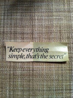 """""""Simplicity is the ultimate sophistication"""" -Leonardo Da Vinci"""