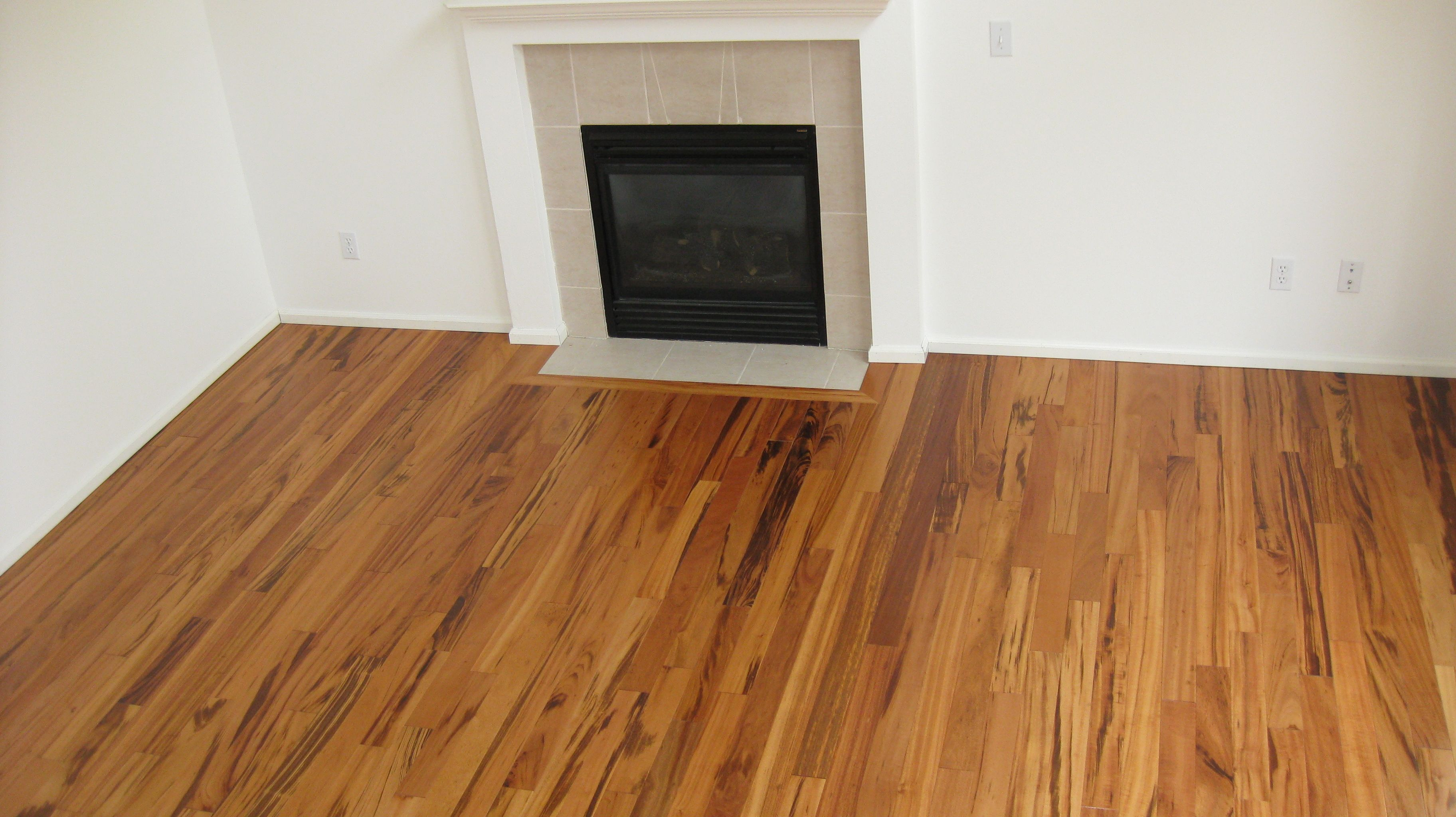 Hardwood flooring exotic hardwood by a fireplace tigerwood exotic hardwood flooring
