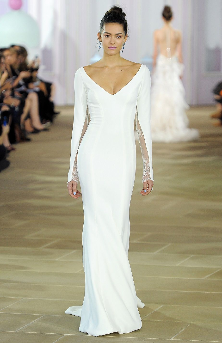Elite wedding dresses  Madeleine  Ines Di Santo FallWinter   Luelite Bridal Boston