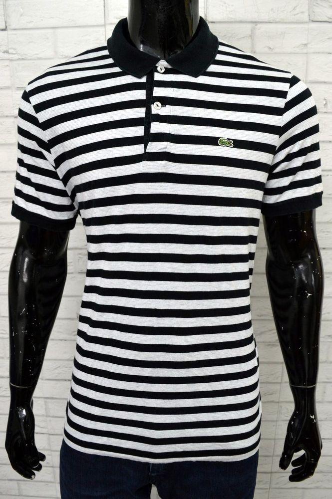cheap for discount cbec3 2a736 Polo LACOSTE Uomo Taglia Size 6 Maglia Camicia Manica Corta ...