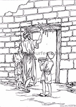 oude en nieuwe testament kleurplaten zonder reclame in