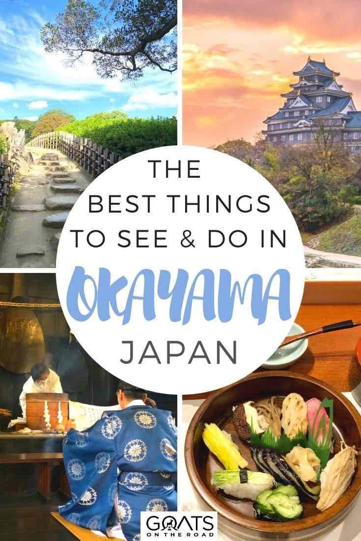 Looking for the best things to do in Okayama, Japan? This city is known for its good weather, beautiful historical sites, and delicious food. Check out our travel guide filled with tips on what to see and do during your vacation! | #japantravel #asia #northernasia