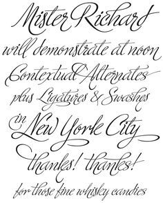 Fancy Tattoo Fonts | Ministry Script by Sudtipos Type - Veer.com ...
