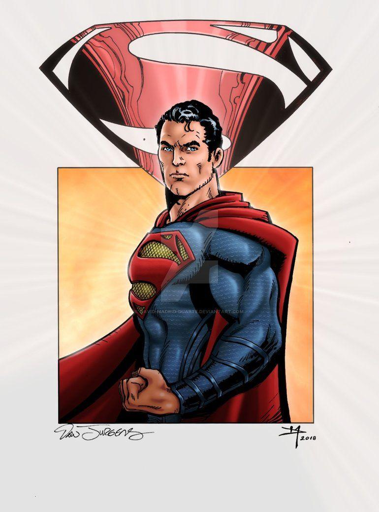 #superman color by Dan Jurgens