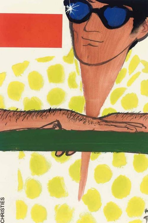Alta ilustrador de moda René Gruau (453 obras)