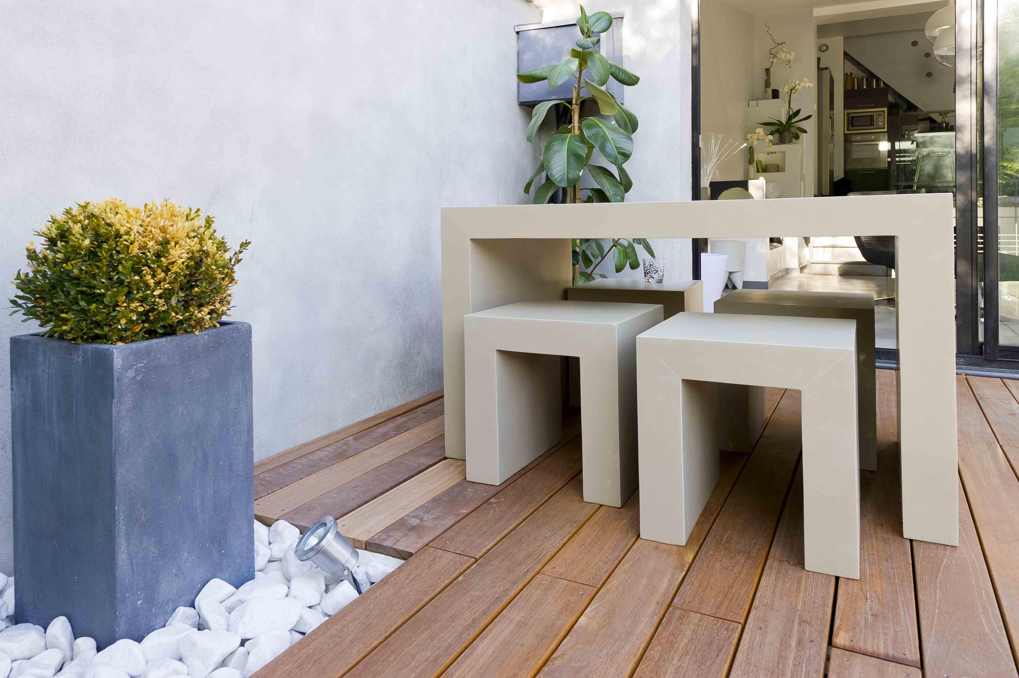 Ensemble Table de Jardin Interieur contemporain Pinterest