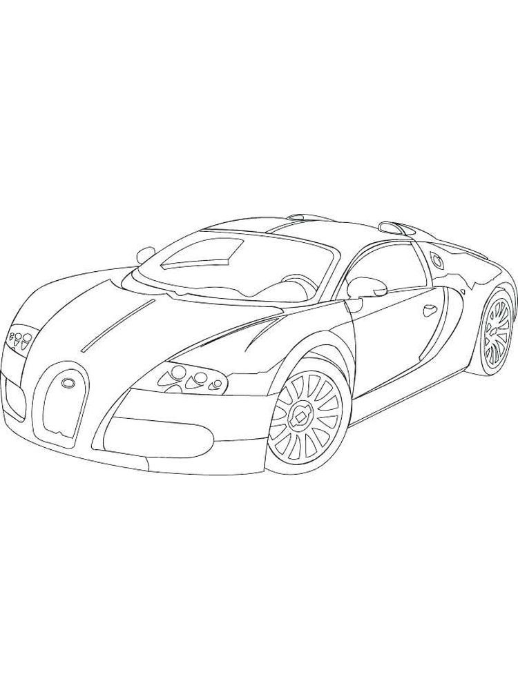Bugatti Coloring Pages For Kids To Print Bugatti Is An Automotive Company That Produces Cars With E In 2020 Coloring Pages For Kids Coloring Pages Cars Coloring Pages