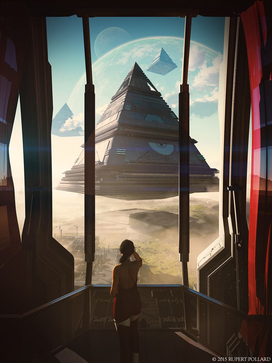 The Arrival by Christian Hecker | Sci-Fi | 2D | CGSociety