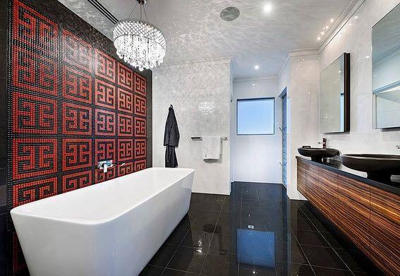 Fachada y diseño interior de casa moderna de dos pisos fotos