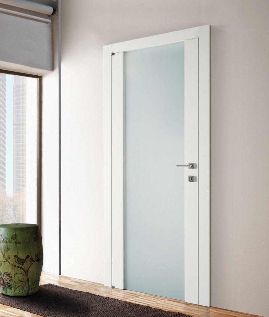 Porta da interno bianca con vetro | MOBILI nel 2019 | Porte ...