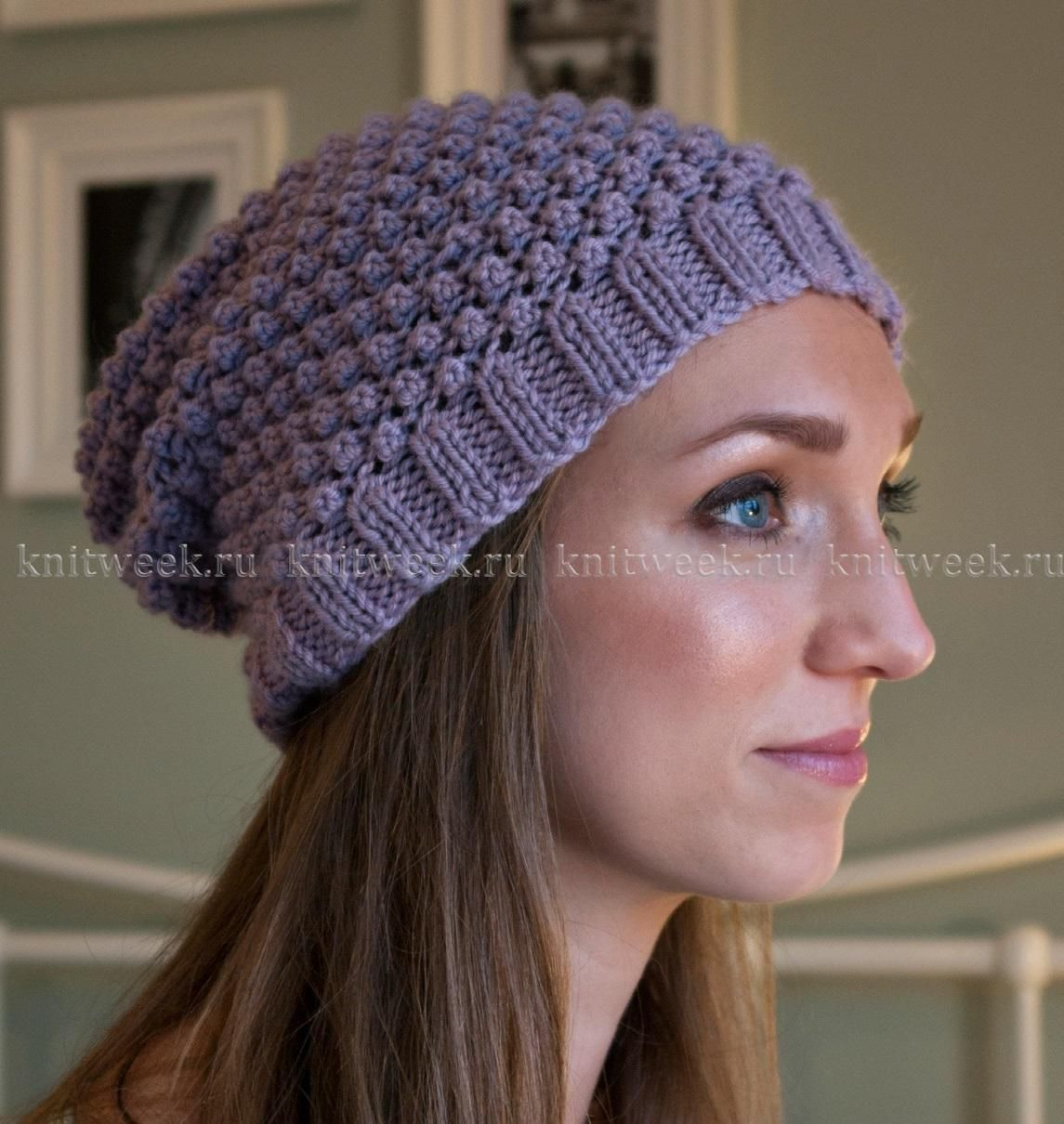 схема вязания шапочки викинга