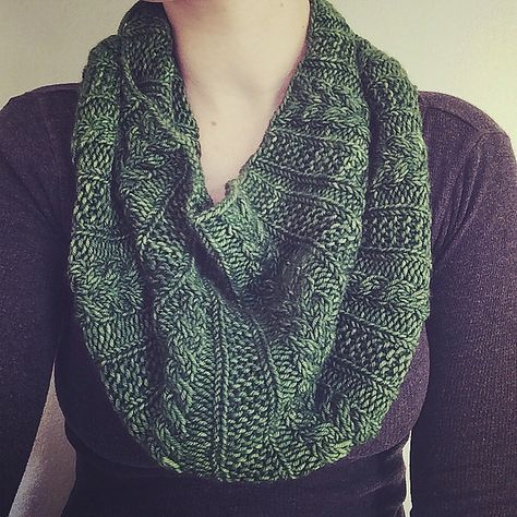Forest Park Cowl Pattern By Liz Abinante Everything Knit Faced