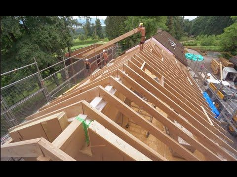 Extreme Fast Wooden House Build Skills Great Woodworking 400 x 300