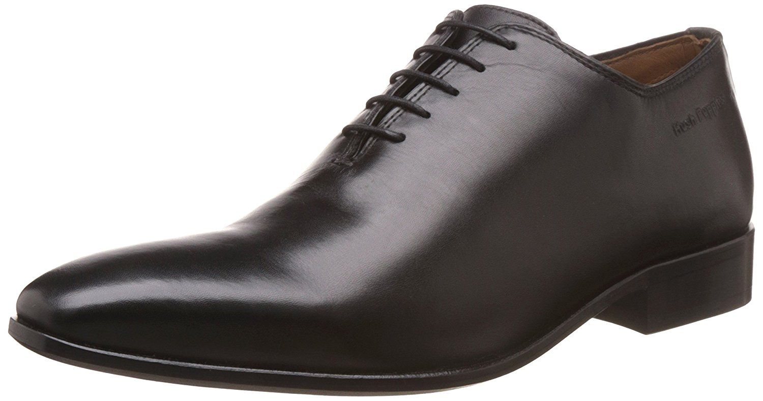 Hush Puppies Men S Elan One Piece Leather Formal Shoes Buy Online At Low Prices In India Am Leather Formal Shoes Formal Shoes For Men Formal Shoes