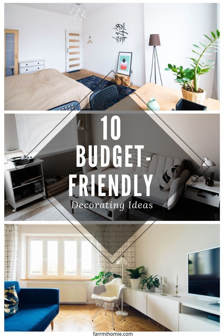 15 Budget Room Makeovers You Have To See: 10 Budget-Friendly Decorating Ideas