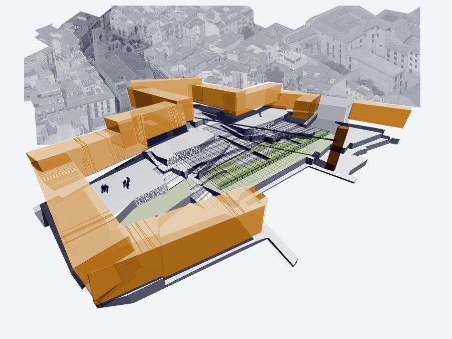 Conjunto Jaen, viviendas + equipamiento + estacionamientos.