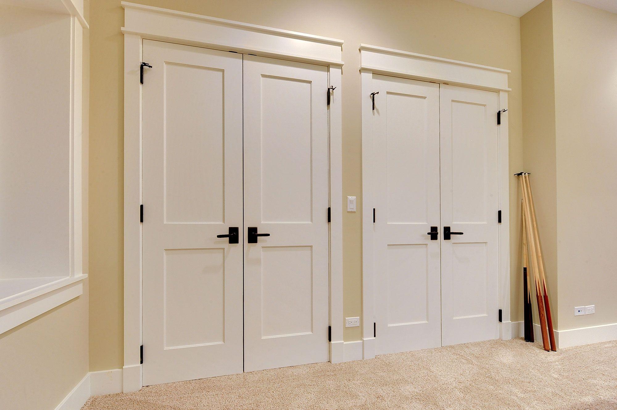 Beau Swinging Closet Doors For Bedrooms