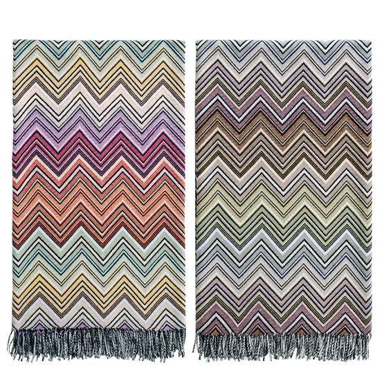"Missoni Home Gravita Oman Leather: Missoni Home ""Perseo"" Blankets"