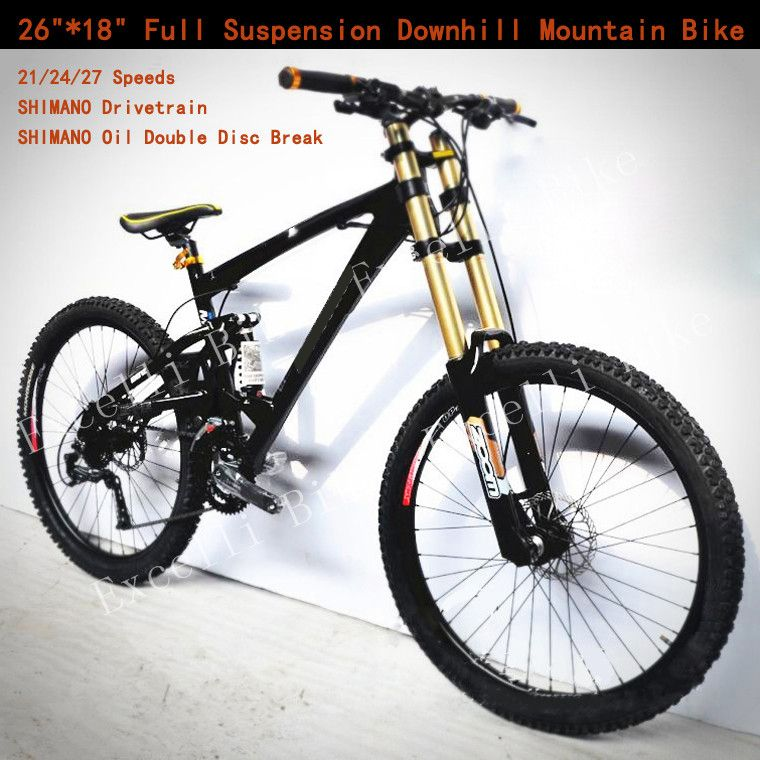 21 24 27 30 Speeds 26 17 5 Damping Full Suspension Fork 26 2 35