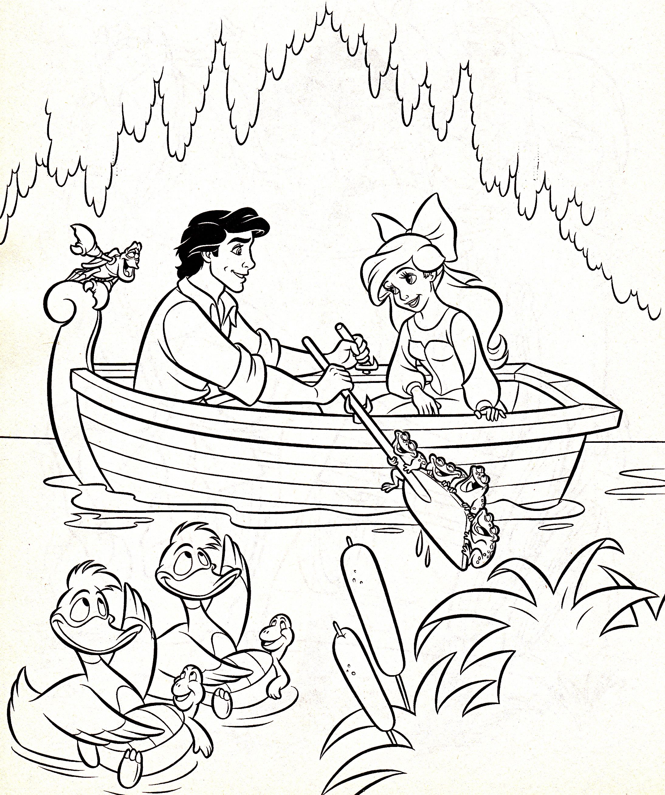 Walt Disney Characters Photo Walt Disney Coloring Pages Sebastian Prince Eric Princ Free Disney Coloring Pages Ariel Coloring Pages Disney Coloring Pages