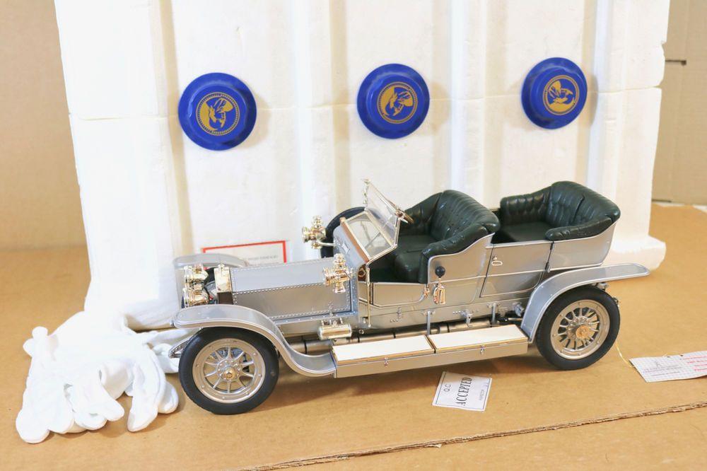 Franklin Mint 1 12 1907 Rolls Royce Silver Ghost Boxed Ni Franklinmint Rollsroyce Rolls Royce Ghost Box Boxed