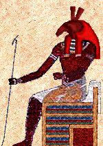 Ancient Egyptian god Seth. Seth represented everything that threatened harmony in Egypt.