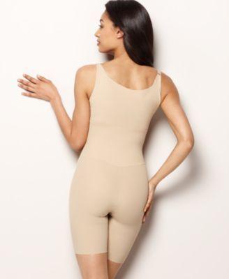 7a811719eb3 Maidenform Firm Control Instant Slimmer Long Leg Open Bust Body Shaper 2556  - Tan/Beige 2XL