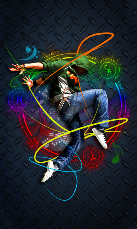 480x800 Hd Jump Dance Mobile Phone Wallpapers Cool