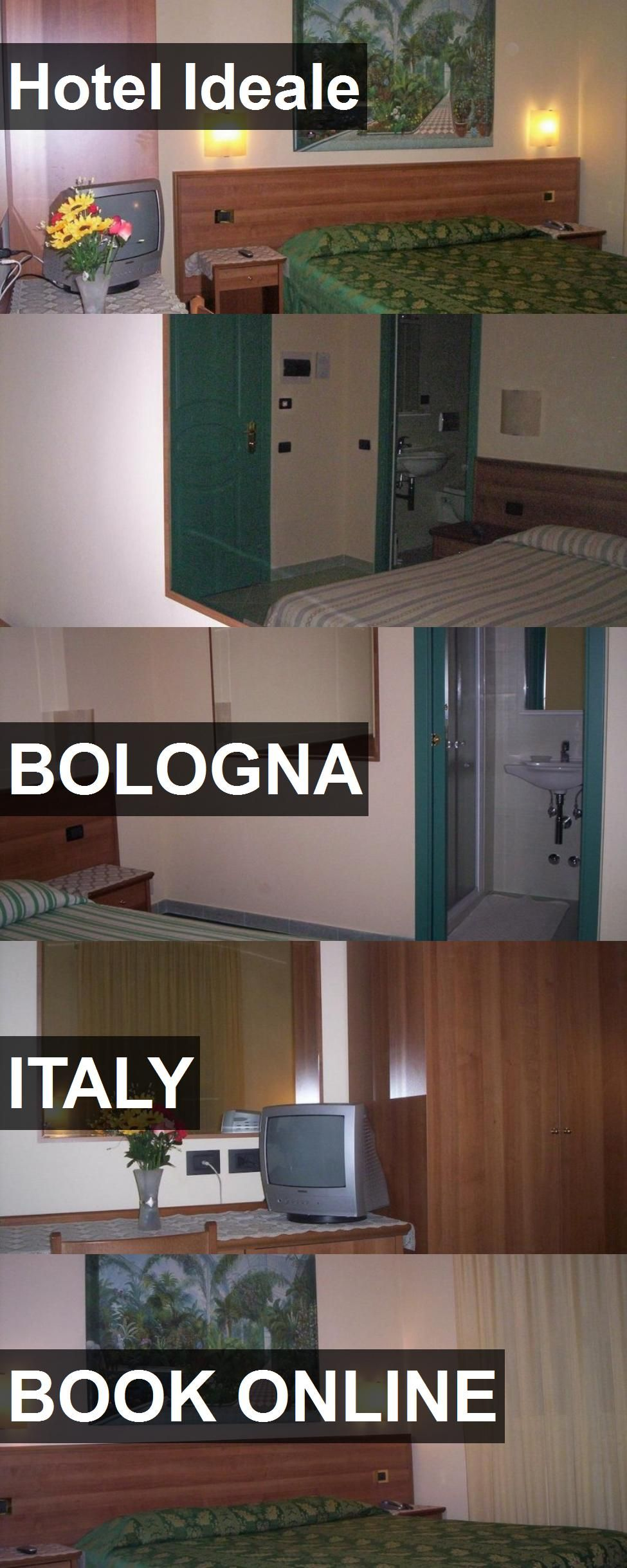 Hotel Ideale In Bologna, Italy. For More Information