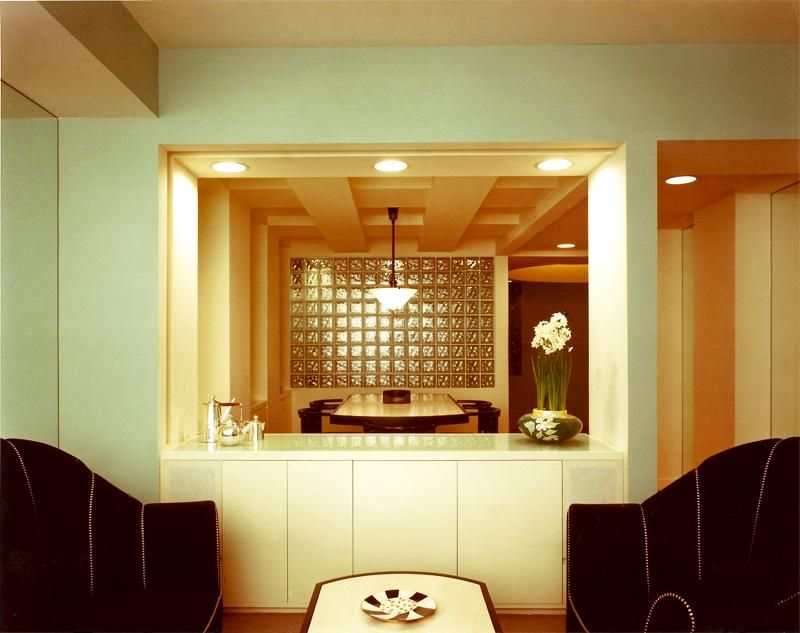 Glass Block Was Commonly Used In Art Deco Era Homes And Buildings Interior Design