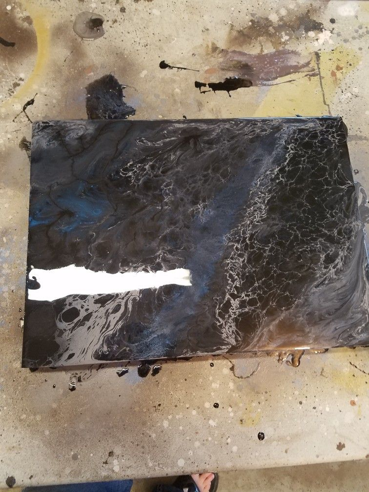 Black Pearl Epoxy Countertop Black Pearl Projects To Try
