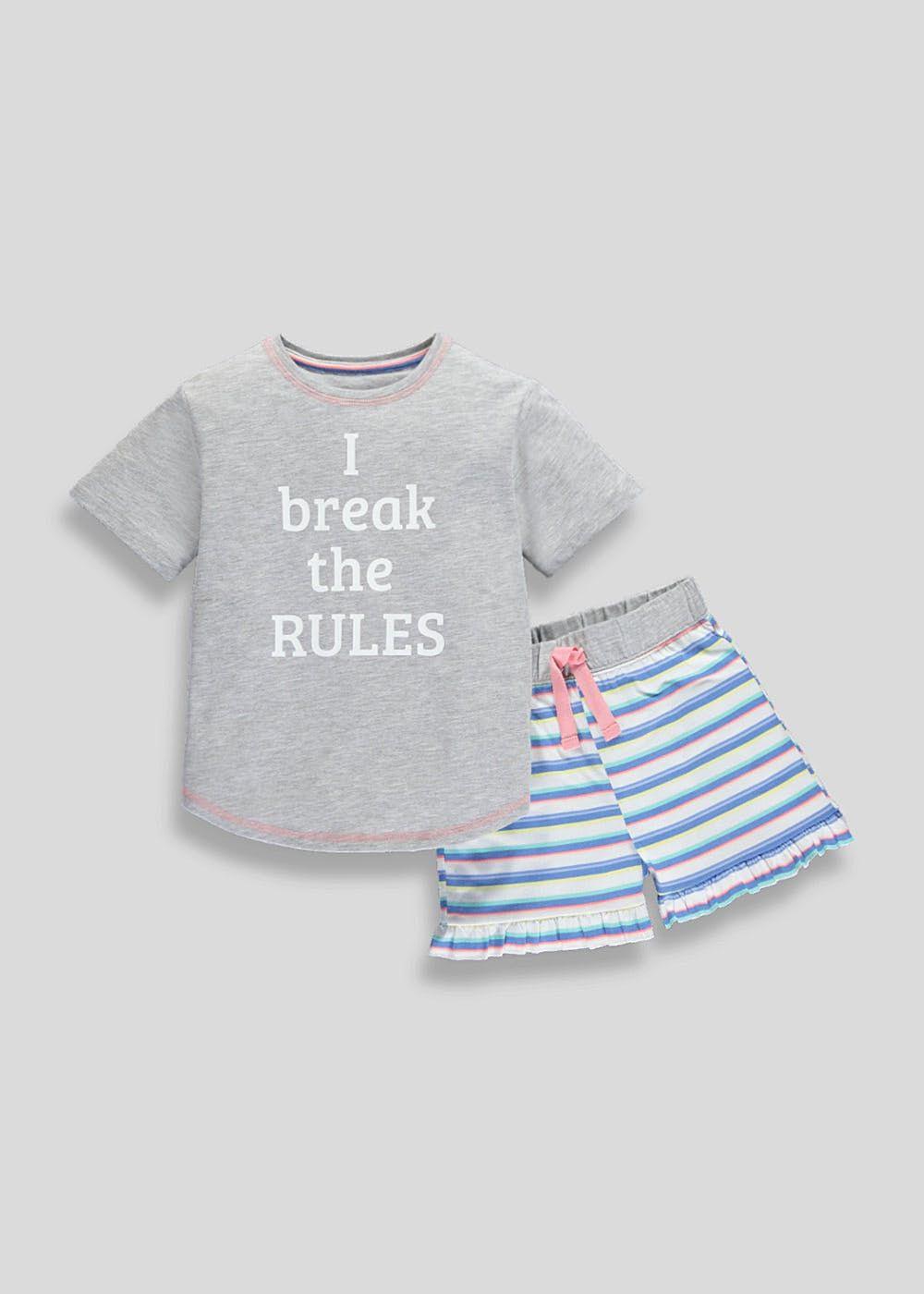Boys Girls Pyjamas Set Pjs Nightwear Sleepwear Character
