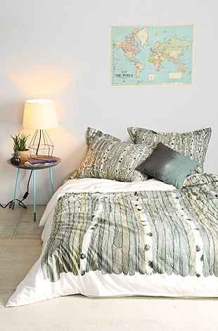 Anna Emilia Birch Tree Duvet Cover Urban Outfitters