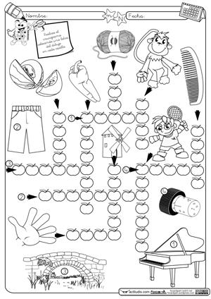Crucigrama N | escuela | Pinterest
