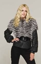 Картинки по запросу кожаные куртки с мехом фото