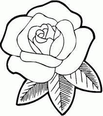 Resultado De Imagen Para Como Dibujar Una Rosa Facil Y