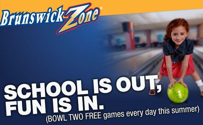 Saving 4 A Sunny Day Fee Ball Pass Coupons From Brunswick Brunswick Find Free Stuff Have Fun