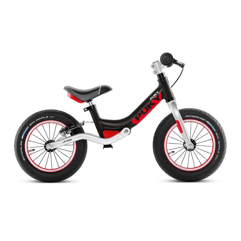 Laufrad Mit Bremse Lr Ride Schwarz Puky Kinderspielzeug Smallable Draisienne Velo Sans Pedale
