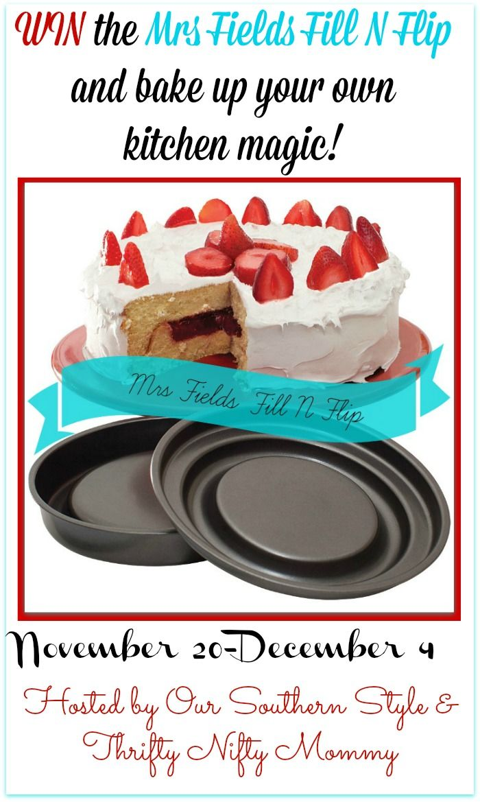 Want to Wow your friends and family this holiday season? Perform some baking magic with the Mrs. Fields Fill N Flip cake pans from Love Cooking Company