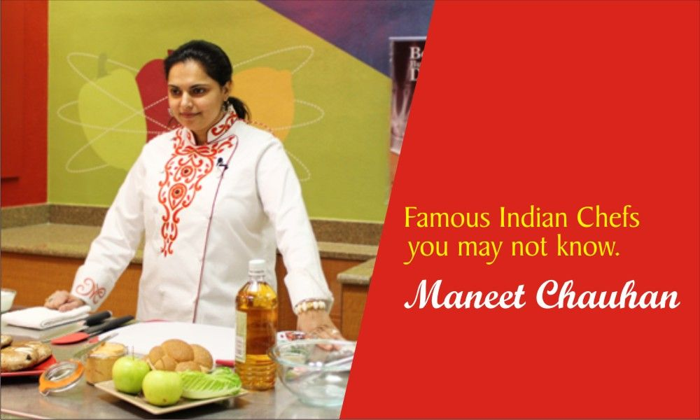 FamousIndianChefs Maneet Chauhan is a USbased
