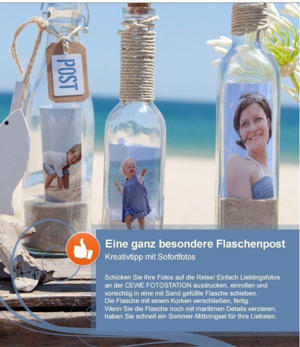 Eine ganz besondere Flaschenpost | DIY | Pinterest | Flaschenpost ...