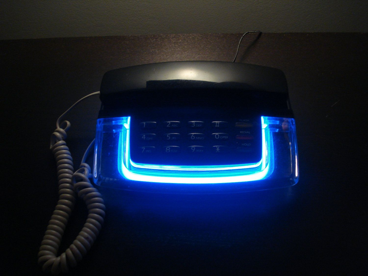 Blue Neon Phone 80 s, Childhood and Nostalgia
