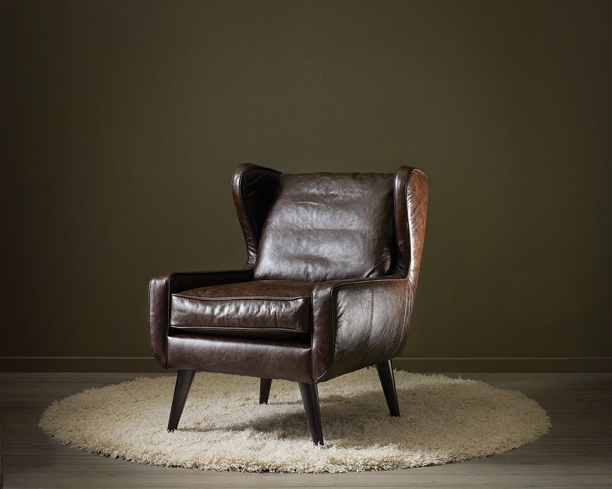 Bradley Leather Chair From Urban Barn $600 With My