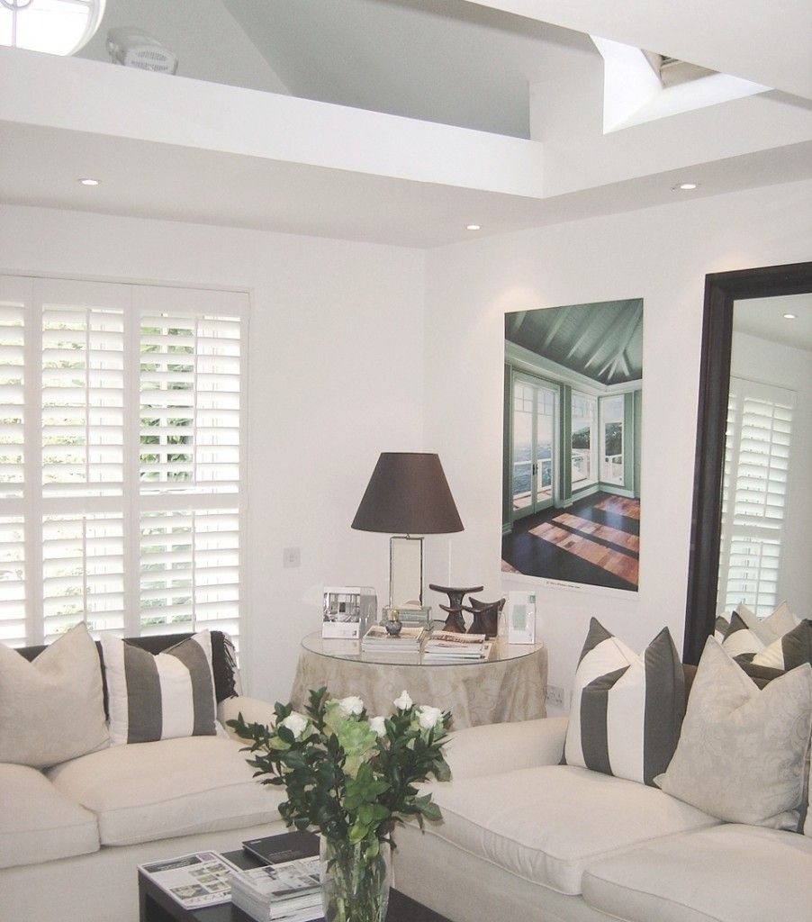 Internal wooden or MDF plantation shutters for your living room ...