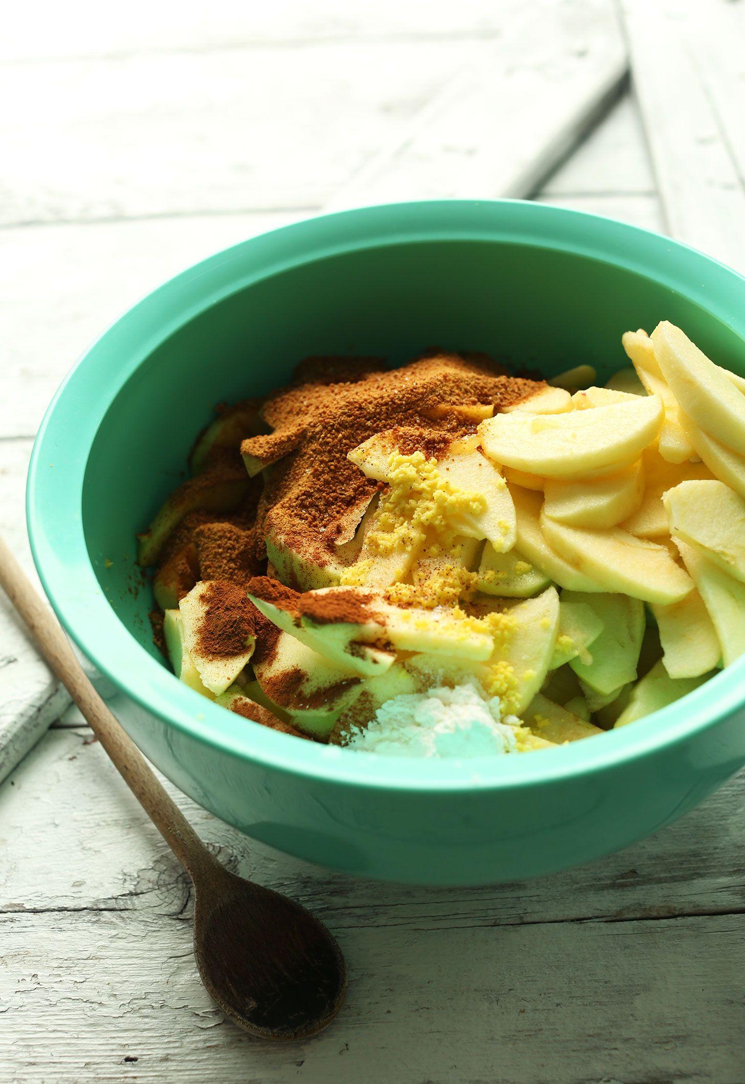 Best Vegan Apple Crisp Minimalist Baker Recipes Recipe Vegan Apple Crisp Apple Crisp Vegetarian Recipes Healthy