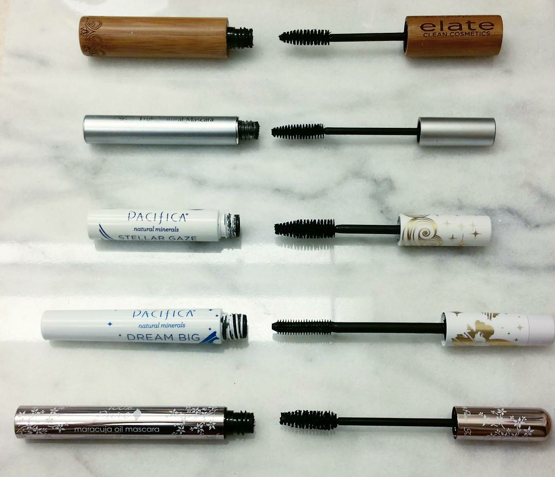 Top 5 Natural, Vegan Mascaras! Check out my blog post to see which mascaras are in my top 5 and why!