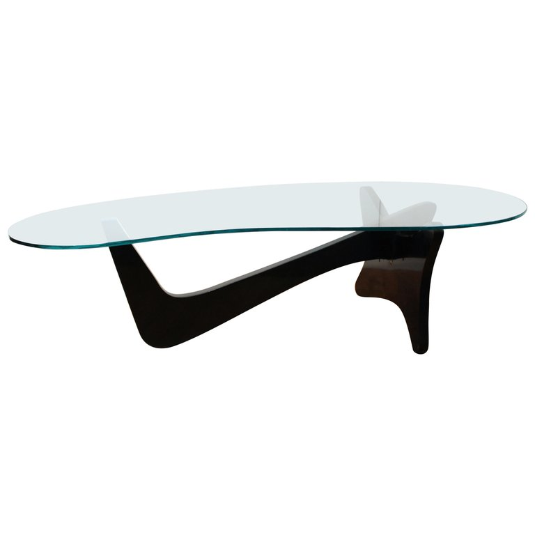 Mid Century Modern Airplane Coffee Table In Noguchi Style